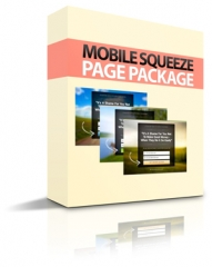 mobile squeeze page package -