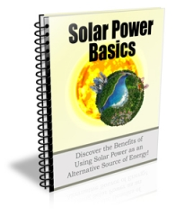 solar power basics plr newslet