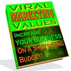 viral marketing values - plr